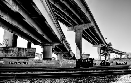 West Oakland Overpass #3BW