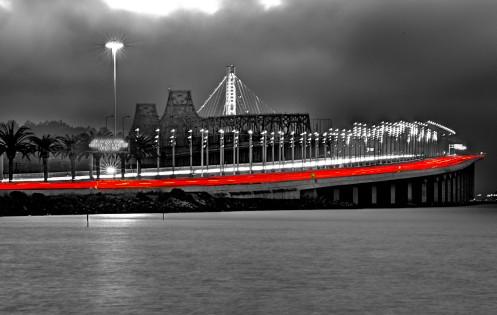 Bay Bridge Approach BW2
